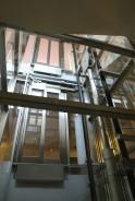 Hydraulický výtah, výtahová šachta