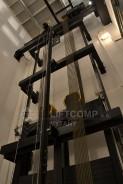 výtahová šachta u bezstrojovnového výtahu