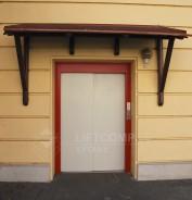 Nákladní výtah s venkovním přístřeškem
