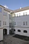 Venkovní ocelová konstrukce Obecní dům Klimkovice