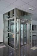 Hydrauický prosklený výtah