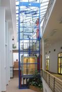 Vnitřní ocelová konstrukce Ikea