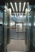 Prosklená kabina výtahu