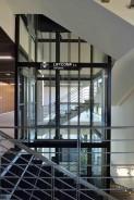 Výtah bez strojovny v ocelové konstrukci Vysoká škola Báňská