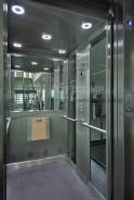 Detailní pohled do kabiny výtahu
