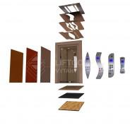 kombinace výtahového designu