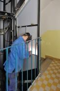montážní práce ve výtahové šachtě