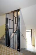 Demontáž a montáž výtahové šachty