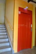 nové opláštění výtahové šachty
