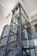 Modernizace výtahů a nová ocelová konstrukce