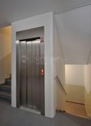 Rekonstrukce výtahu a nové opláštění výtahové šachty