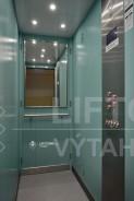 výtahová kabina se zapuštěným diodovým osvětlením