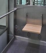 nezapuštěná sedačka pro imobilní osoby