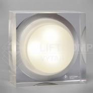 Nezapuštěné hranaté diodové osvětlení do výtahu