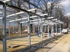 Ocelové konstrukce pro skladové haly